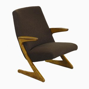 Z Lounge Armchair by Bengt Ruda for Nordiska Kompaniet, 1950s
