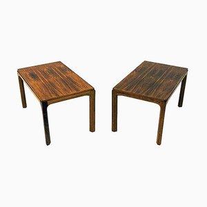 Tavolini in palissandro modello 381 di Aksel Kjersgaard per Odder, Danimarca, anni '60, set di 2
