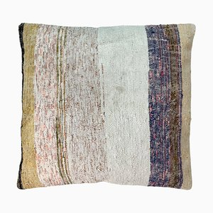 Upcycled Turkish Tapis Kelim Pillow Cover