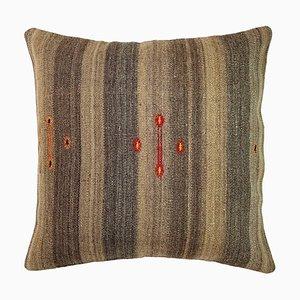 Upcycled Turkish Tapis Kelim Pillow Cover