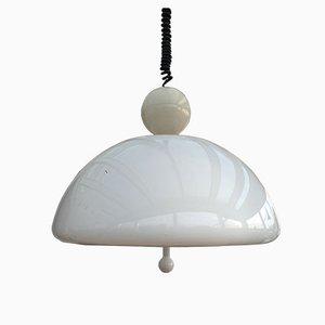 Lámpara de techo italiana regulable de Ello Martinello para Martinelli Luce, años 70