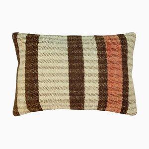 Vintage Upcycled Anatolian Kilim Cushion Cover