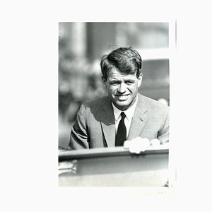Henry Grossman, retrato de Robert Kennedy, foto original, 1968