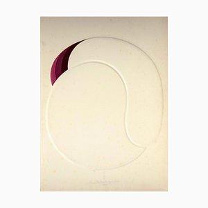 Shu Takahashi, el principio del amor, técnica mixta original, 1973