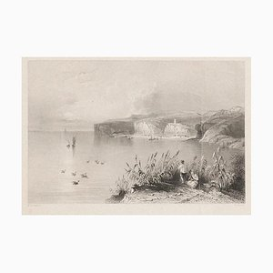 W. H. Bartlett, Nicopolis, Original Lithograph, Early 19th Century