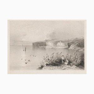 WH Bartlett, Nicopolis, Original Lithographie, Frühes 19. Jahrhundert
