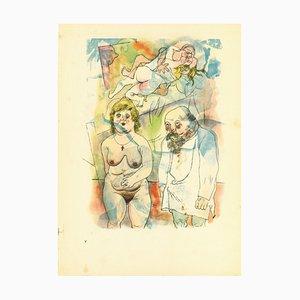 George Grosz, Mama und Papa, 1923