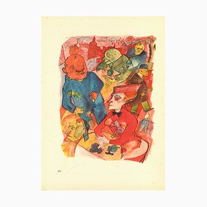 George Grosz, Oh, Crazy World, You Blessed Freak Show!, 1923
