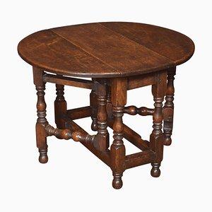 Kleiner Gateleg Tisch aus Eiche