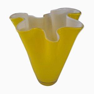 Vintage Yellow Murano Vase