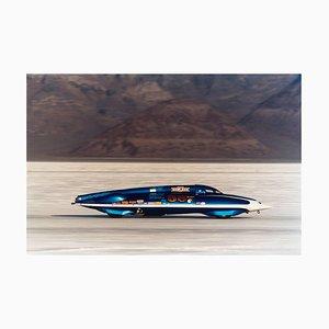 Lsr Streamliner II, Bonneville, Utah, Auto in der Landschaftsfarbfotografie 2003