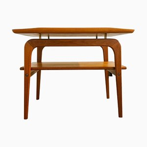 Mid-Century Teak Side Table by Arne Hovmand-Olsen for Mogens Kold