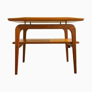 Tavolino Mid-Century in teak di Arne Hovmand-Olsen per Mogens Kold