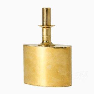 Vergoldete Messingflasche von Pierre Forssell