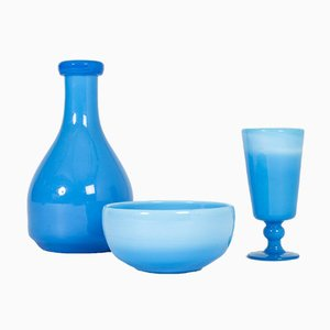Glass Vessels by Erik Höglund, Set of 3