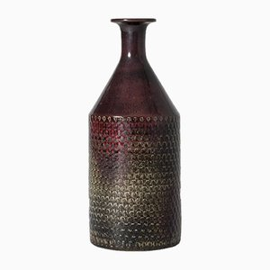 Unique Stoneware Vase by Stig Lindberg