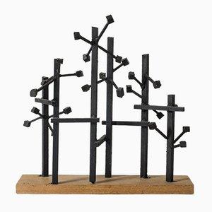 Metallskulptur von Fred Leyman