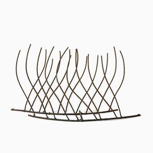 Skulptur aus Eisen von Fred Leyman