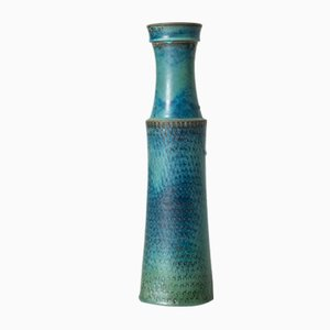 Große Steingut Vase von Stig Lindberg