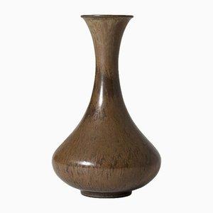 Steingut Vase von Gunnar Nylund