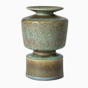 Einzigartige Steinzeugvase von Stig Lindberg