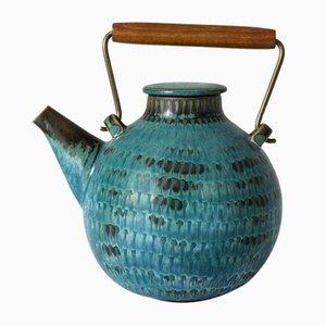 Stoneware Teapot by Stig Lindberg