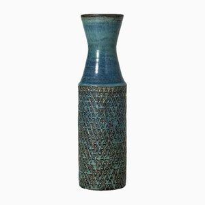 Vase Unique en Grès par Stig Lindberg
