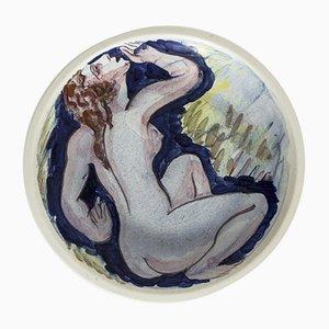 Steinzeugplatte von Isaac Grünewald
