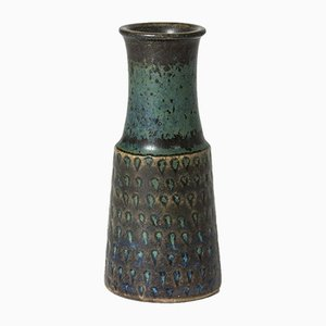 Miniatur Steinzeug Vase von Stig Lindberg