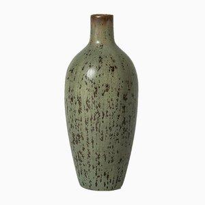 Miniatur Steingut Vase von Carl-Harry Stålhane