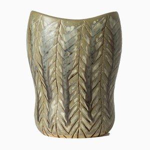 Einzigartige Steingut Vase von Carl-Harry Stålhane