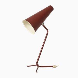 Lampe de Bureau en Métal Laqué d'Asea