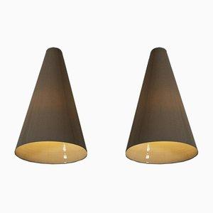 Wandlampen von Carl-Harry Stålhane, 2er Set