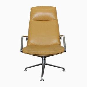 Fk 86 Leather Lounge Chair von Preben Fabricius & Jørgen Kastholm für Walter Knoll / Wilhelm Knoll, 1970er Jahre