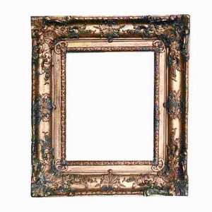 French Mirror with Golden Frame