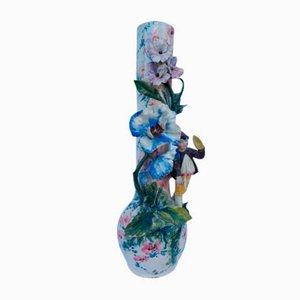 Antique Neapolitan Ceramic Vase