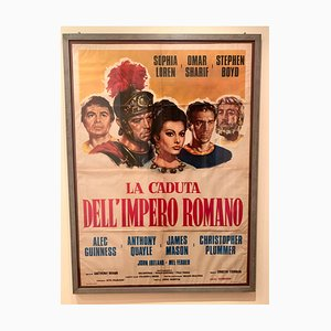 Affiche de film La Chute de l'Empire romain, 1964