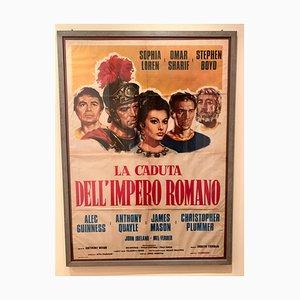 Der Fall des Römischen Reiches Filmplakat, 1964