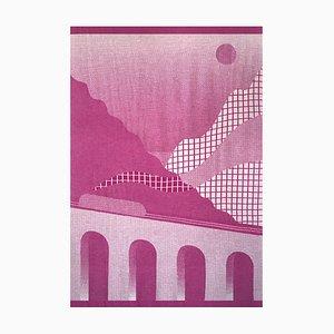 Panoramica Blanket Tapestry 01 by Serena Confalonieri