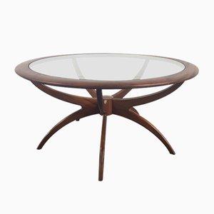Table Basse Araignée Ronde par Victor Wilkins pour G-Plan, 1960s