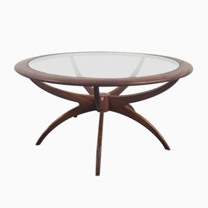 Tavolino da caffè Spider rotondo di Victor Wilkins per G-Plan, anni '60