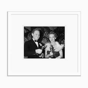 Oscar Victory Archival Pigment Print Framed in White by Everett Collection