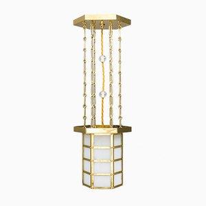 Art Deco Viennese Ceiling Lamp, 1920s