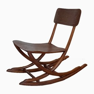Rocking Chair No. 16 from Thonet, 1890s