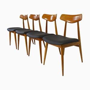 Sedie da pranzo di Habeo, anni '60, set di 4