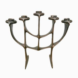 Brutalist Mid-Century Candle Holder