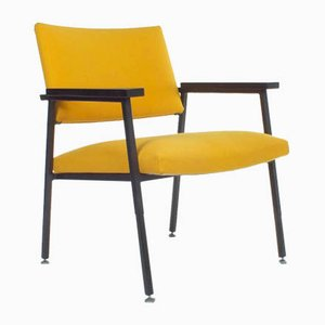 Yellow Armchair Z10 from Gispen