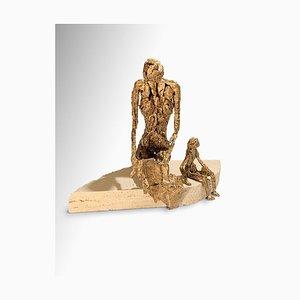 Fero Carletti - Call - Original Metallic Skulptur - 2020