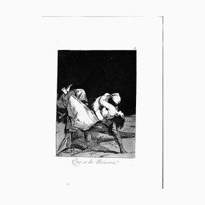 Francisco Goya - Who Took Her! - Original Etching - 1799