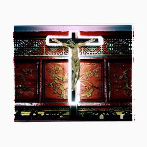 Neon Cross, Ho Chi Minh City - Contemporary Religious Color Photography 2016